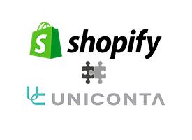 uniconta - shopify 2